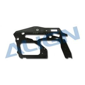 HN7027T ALIGN Carbon Main Frame (R) / 2.0mm for T-REX 700 Nitro Pro
