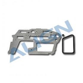 HN6040T-1 ALIGN Fiberglass Main Frame (L) 1.6mm for T-REX 600 Nitro