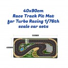 Turbo Racing 40x90cm Race Track Pit Mat for 1/76th scale rc car use