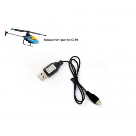 Firefox C129 USB Charger, Input 5A, Output 3.7V 500mA