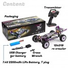1/12th scale 2.4G 4WD 55km/h 124019 Metal Chassis Off-Road RC Crawler Ready-to-run WL-124019