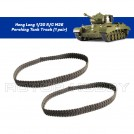 Heng Long 1/30th scale U.S. M26 Pershing RC Realistic Battle Tank Track (1 pair)