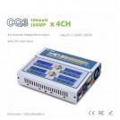 CQ3 110-240V 100Watt 10Amp AC/DC Multi Charger 4 x 100W with Built-in Balance, 1-6S LiPo/Li-ion/LiFe/NiCd/NiMH/Pb
