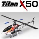[4855-K10] Titan X50 Heli Kit (Nitro-Powered) + 600mm Carbon Main Rotor Blade   Belt-driven Version (4855)
