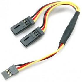 """6"""" (15.24cm) Y Heavy Duty Extension Wire, Hitec / JR, PN54701S"""