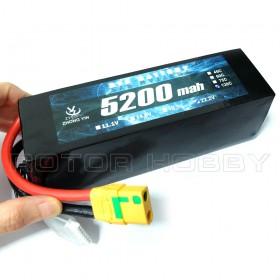 ZYE 22.2V 5200mAh (Continuous 120C) LiPo Battery, XT90 Antispark connector
