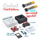 Makerfire RTF Lite Quad (Drone Weight: 27g with battery) - Micro F04 Lite Tiny Whoop Quadcopter MF-4194573