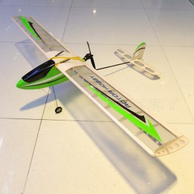NIGHTHAWK RC Electric Glider Green, Night Lights, PNP