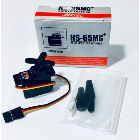 Hitec HS-65MG+ Mighty Feather Servo Motor (Metal Gear)