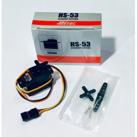 Hitec HS-53 Economy Feather Servo Motor (Nylon Gear)