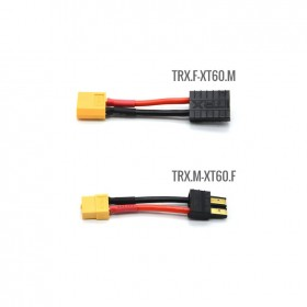 Traxxas Connector TRX to XT60 with Silicone wire