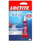 [NETT] LOCTITE® Heavy Duty Threadlocker, Blue 242, 0.2oz/6ml (1pc) - Nut & Bolt Locker. Made in USA. (Code No.: 24200) BLUE242