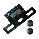 TL90 Digital Pitch Gauge for 250-800 Flybarless Helicopter, for 20-74mm Rotor Blades