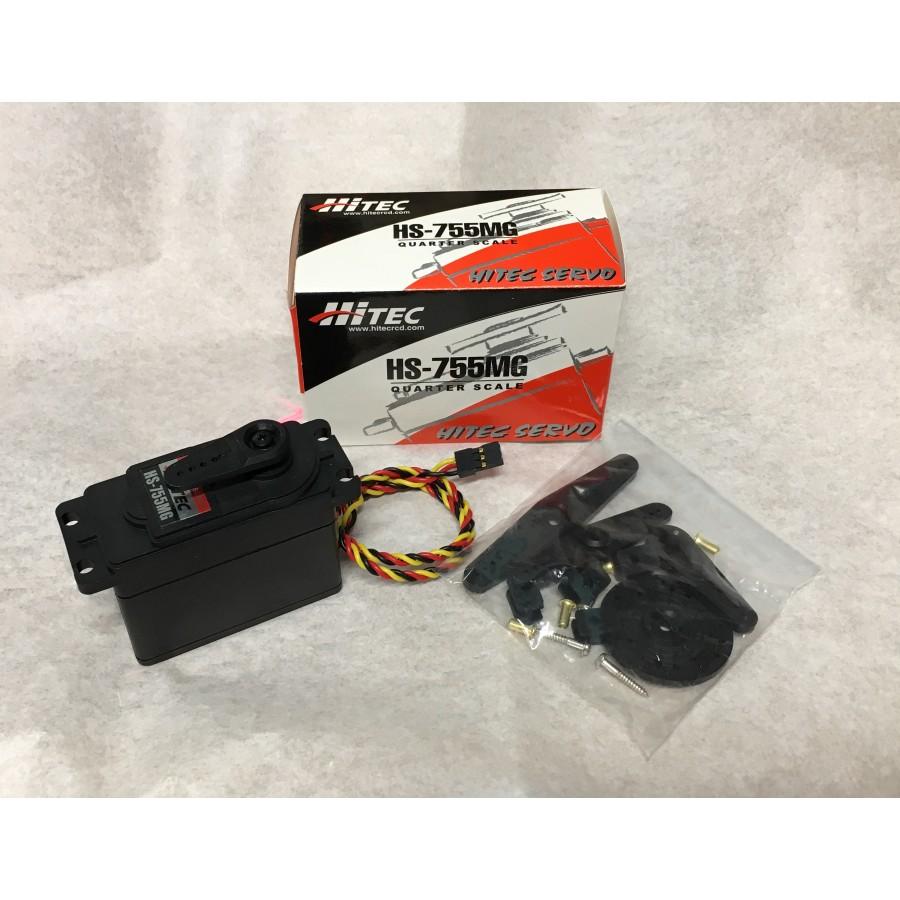 Hitec HS-755MG Quarter Scale Servo Motor (Metal Gear