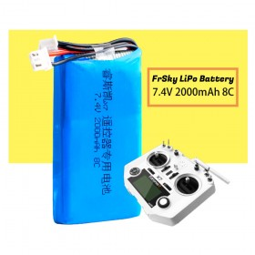 Taranis Q X7 LiPo Battery, 7.4V 2000mAh 8C