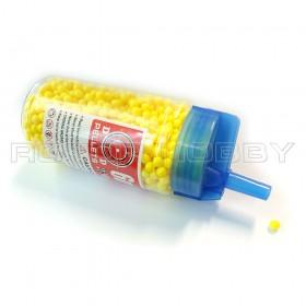 Plastic BB Bullets 6mm, 0.1g for RC Tank Use, about 1800pcs~2000pcs