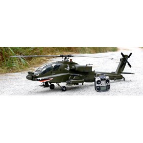AH-64 700 size Military Apache KIT HSM800  (Army Green) by Roban Model