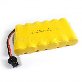 7.2V 700mAh Rechargeable Ni-CD Battery for HuiNa HNT550