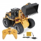 6 Channel 2.4G 1/18th scale RC Metal Bulldozer 520, RTR