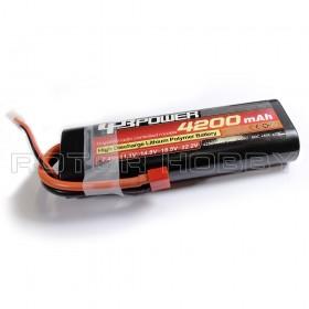 7.4V 4200mAh LiPo Battery, 60C, T Plug