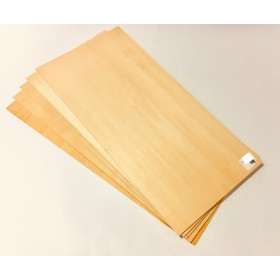 PLY03 3mm Model Plywood, LxWxH: 460x230x3mm (46x23x0.3cm) for Radio-controlled model projects