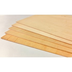 PLY01 3mm Model Plywood, LxWxH: 460x460x3mm (46x46x0.3cm) for Radio-controlled model projects