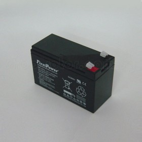12V Rechargeable Lead Acid Battery, 7.2Ah