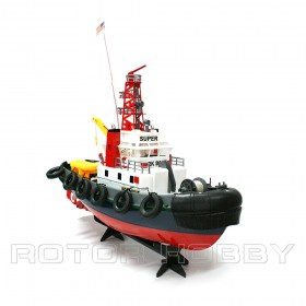 Super Detailed RC Seaport Work Boat / Electric Tugboat