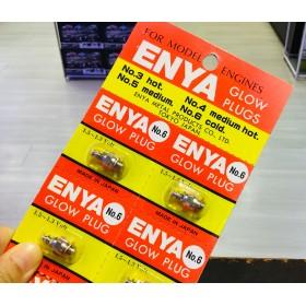 ENYA No.6 Glow Plug, Cold (1.5~1.3 Volt) (Japan)