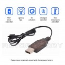 USB Charger for charging 4.8V / 7.2V Ni-CD or Ni-MH Rechargeable Battery with SM-2P Black Connector