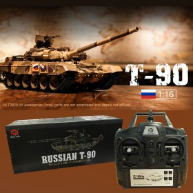Russian T-90 Smoking RC Battle Tank, Standard version P, T90