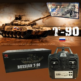 MZ Version Russian T-90 Smoking RC Tank