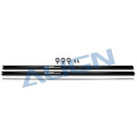 Aluminium Tail Boom / Black (2pcs) for T-REX 700 Nitro