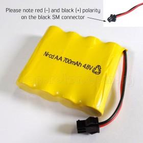 4.8V 700mAh Ni-CD Battery for HuiNa HNT520, HNT540