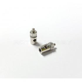 Adjustable Servo Pushrod Linkage Stopper Servo Connectors for 2.1mm Rod (2pcs)