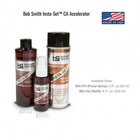 Insta-Set CA Accelerator, for plastic & foam (100% foam safe)