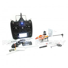 2.4G 6-Channel 3D6G Blast K110 Brushless Flybarless Electric Helicopter Set with X6 Transmitter, Ready-to-Fly, RTF