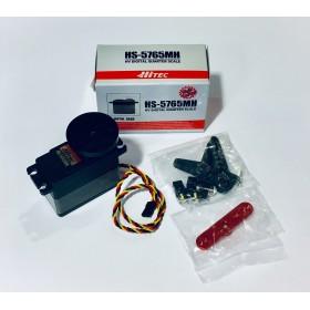 Hitec HS-5765MH High Voltage Digital Quarter Scale Servo Motor, High Torque (Metal Gear) HS5765MH