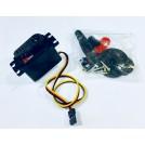 Hitec HS-5585MH HV Monster Torque Digital Programmable Servo Motor (Metal Gear)