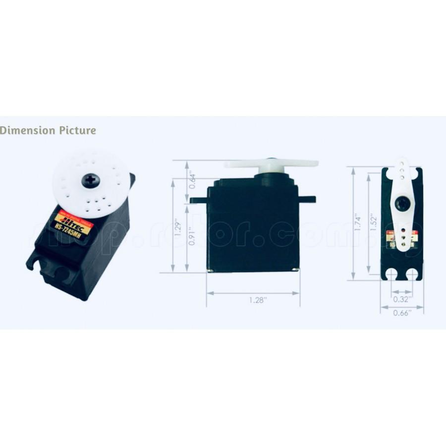 Hitec HS-7245MH HV Mini Digital Torque Programmable Servo