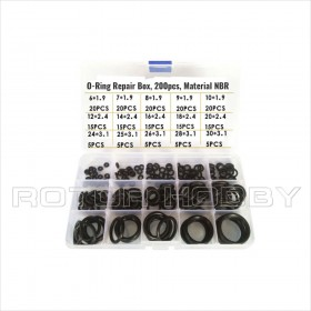 NBR O-Ring Set, 200pcs