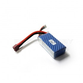 11.1V 1300mAh 3S 25C LiPo Battery T-plug / Dean connector