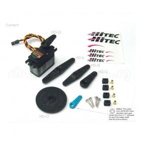 Hitec HS-7940TH High Voltage Ultra Speed Programmable Digital Servo Motor (Titanium Gear), 2nd Generation(G2)