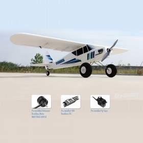 DYNAM Primo V2 1.45M Electric Airplane with flap, Wingspan 1450mm, Plug-and-Play
