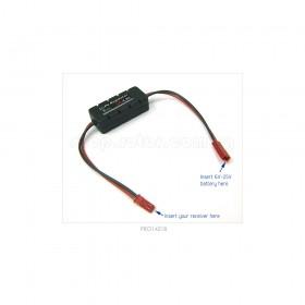 LiPo Battery Regulator, 5A with Casing | Input voltage 6V-25V, Output 4.8V