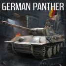 1/16th scale German Panther Smoking RC Battle Tank, 2.4GHz, Standard Version