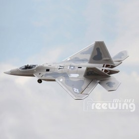 FreeWing [4S Upgrade Version] F-22 Raptor 64mm EDF 4S  Electric   Ducted Fan Fighter Jet Airplane, Wingspan 690mm, Plug-and-Play
