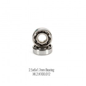 Bearing 2.5x6x1.7mm (2),  for K100, K110, K120