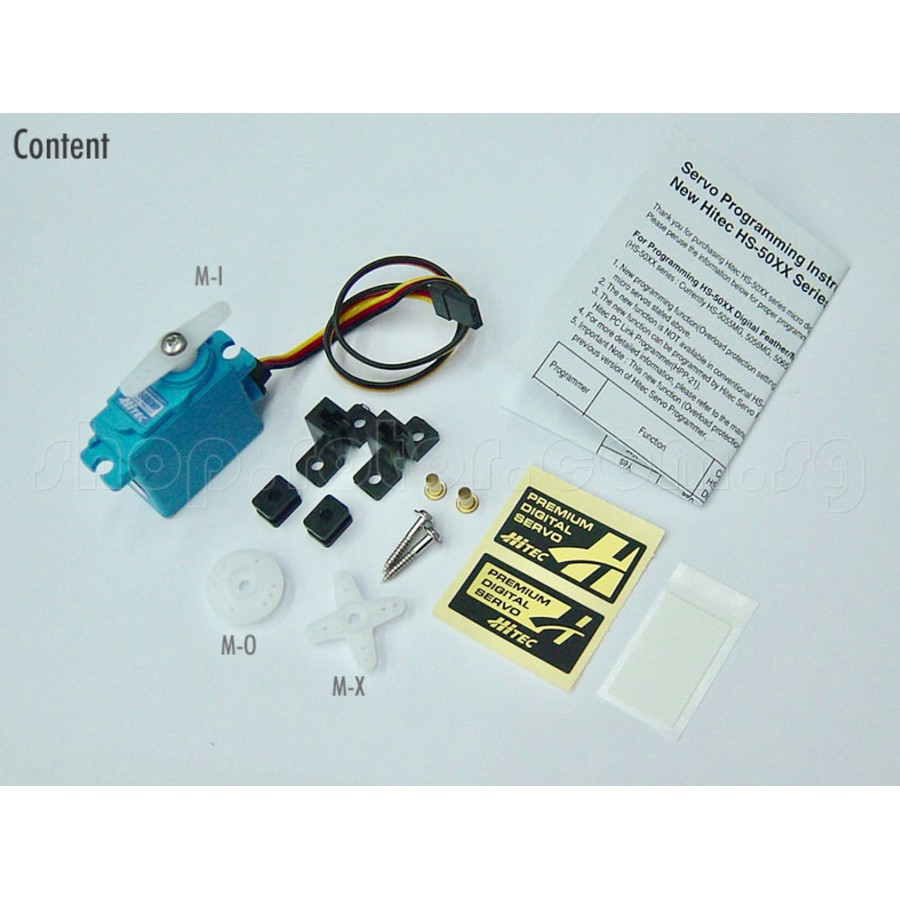 Hitec HS-5086WP Micro Digital Programmable Water Proof Servo