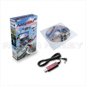 AEROSIM RC Radio Control Flight Simulator System for PC